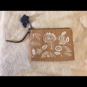 LOFT travel make up bag
